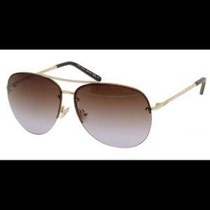 Jimmy Choo Fran/s Gold Sunglasses